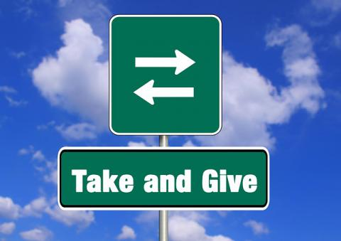 take-and-give